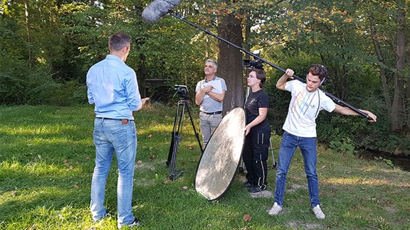 Allgäu Events Vortex Impulse Filmset Außendreh