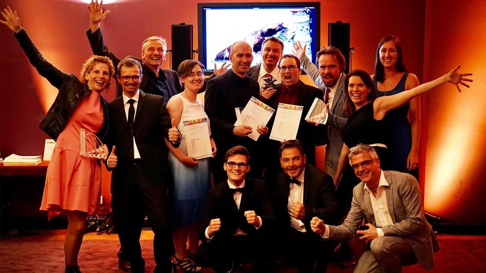 silberstern Filmproduktion - Wie 2018 beim WordMediaFestival in Hamburg können wir uns auch 2019 in die Siegerlisten eintragen.