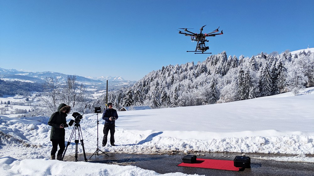 silberstern Filmproduktion - Blog: Kamera-Drohnen: Fluch oder Segen?